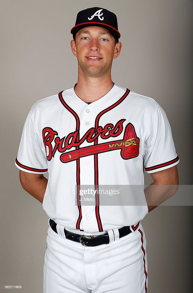 Pitcher Aaron Northcraft #64 of the Atlanta Braves poses for a photo during photo day at Champion Stadium at the ESPN Wide World of Sports Complex at Walt Disney World on February 20, 2013 in Lake Buena Vista, Florida.