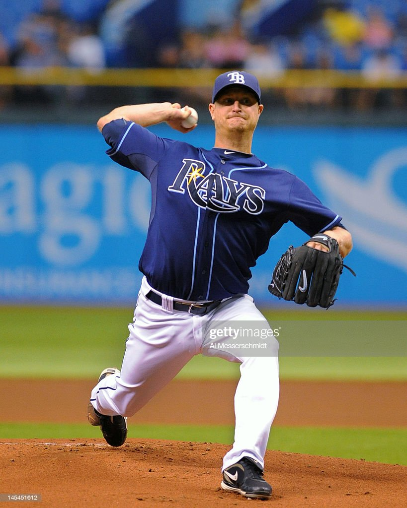 Pitcher <a gi-track='captionPersonalityLinkClicked' href=/galleries/search?phrase=Alex+Cobb&family=editorial&specificpeople=7512114 ng-click='$event.stopPropagation()'>Alex Cobb</a> #53 of the Tampa Bay Rays starts against the Chicago White Sox May 30, 2012 at Tropicana Field in St. Petersburg, Florida.