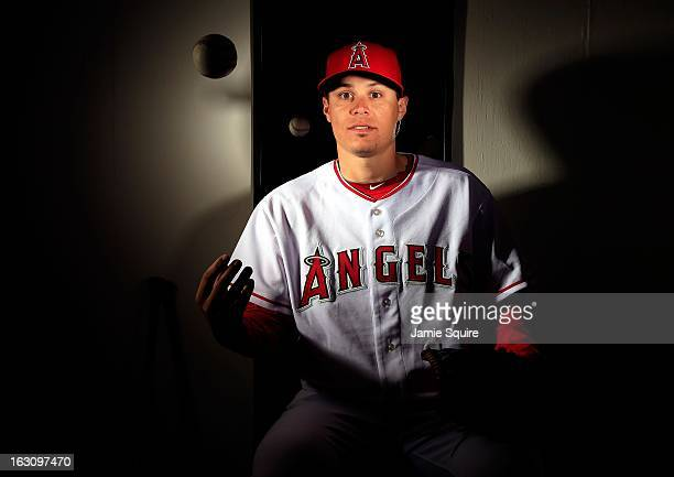 Pitcher Billy Buckner poses during the Los Angeles Angels of Anaheim Photo Day on February 21 2013 in Tempe Arizona