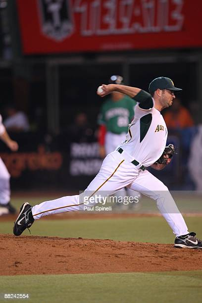 Pitcher Brendan Wise of Australia throws a pitch against Mexico in the Pool B game 5 in the first round of the 2009 World Baseball Classic at Foro...