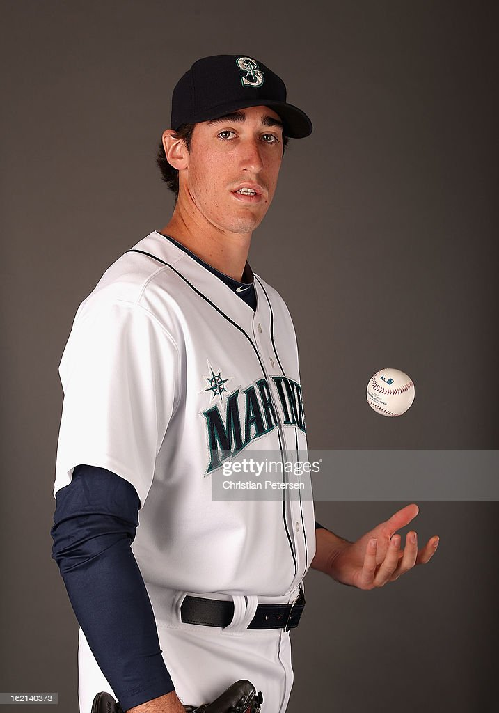 Pitcher Brian Moran #72 of the Seattle Mariners poses for a portrait during spring training photo day at Peoria Stadium on February 19, 2013 in Peoria, Arizona.
