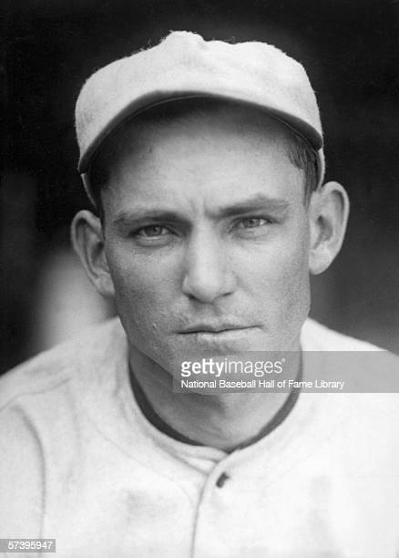 Pitcher Charles Robertson of the Chicago White Sox poses for a portrait Charles Culbertson Robertson played for the White Sox from 191925