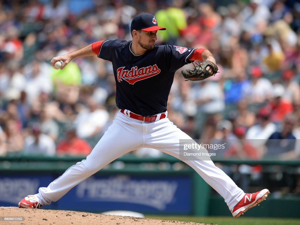 Color game ray otero - Pitcher Dan Otero 61 Of The Cleveland Indians Throws A Pitch During A Game On