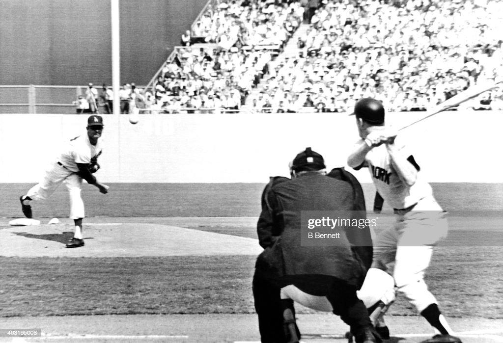 1963 World Series Game 3 New York Yankees v Los Angeles Dodgers