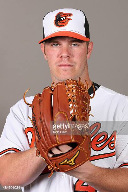 Pitcher Dylan Bundy of the Baltimore Orioles poses on photo day at Ed Smith Stadium on March 1 2015 in Sarasota Florida