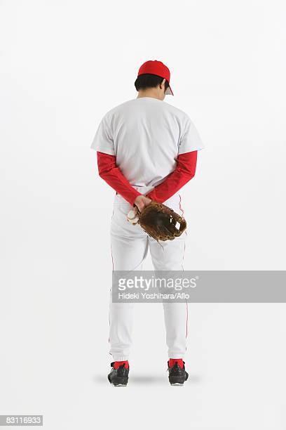 Pitcher Holding Baseball