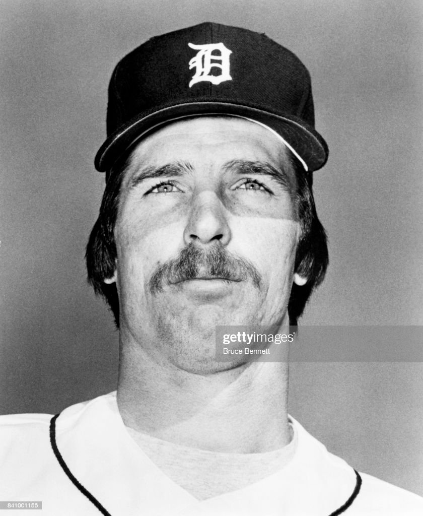 Pitcher Jack Morris #47 of the Detroit Tigers poses for a portrait circa March, 1985 during Spring Training in Lakeland, Florida.
