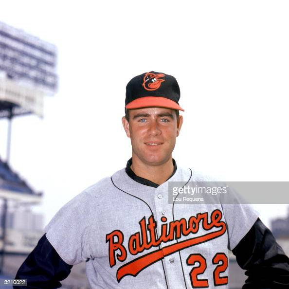 Pitcher Jim Palmer of the Baltimore Orioles poses for a portrait during the 1971 MLB season