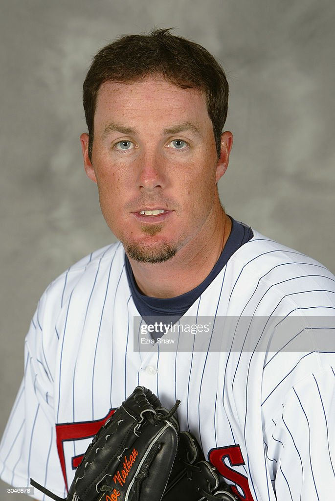 Pitcher <a gi-track='captionPersonalityLinkClicked' href=/galleries/search?phrase=Joe+Nathan&family=editorial&specificpeople=215405 ng-click='$event.stopPropagation()'>Joe Nathan</a> #36 of the Minnesota Twins poses for portrait during Twins Photo Day at the Twins Spring Training Complex on March 1, 2004 in Fort Myers, Florida.