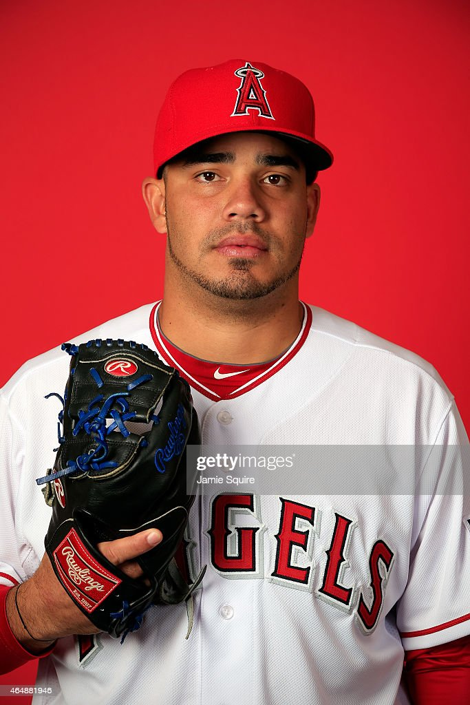Los angeles angels of anaheim photo day getty images - Jose alvarez ...