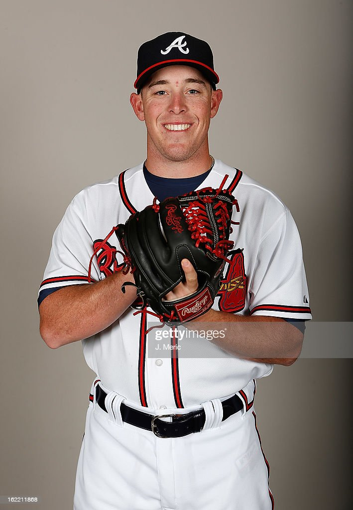 Pitcher J.R. Graham #83 of the Atlanta Braves poses for a photo during photo day at Champion Stadium at the ESPN Wide World of Sports Complex at Walt Disney World on February 20, 2013 in Lake Buena Vista, Florida.