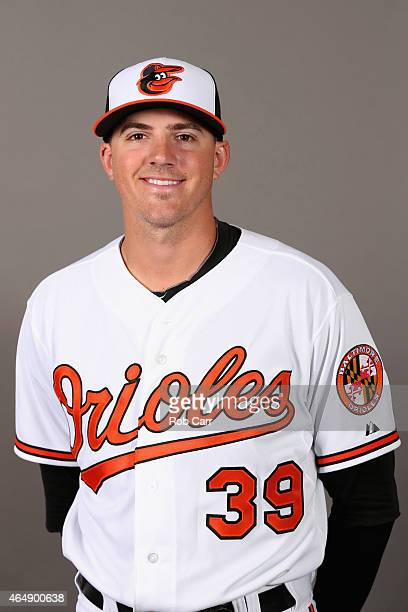 Pitcher Kevin Gausman of the Baltimore Orioles poses on photo day at Ed Smith Stadium on March 1 2015 in Sarasota Florida