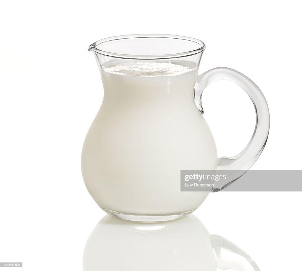 Pitcher of buttermilk