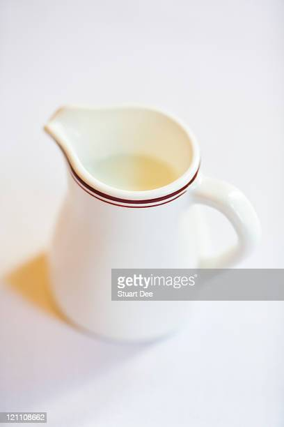Pitcher of milk, shallow depth of field
