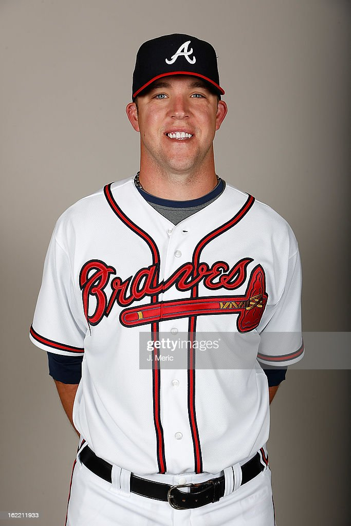 Pitcher Paul Maholm #28 of the Atlanta Braves poses for a photo during photo day at Champion Stadium at the ESPN Wide World of Sports Complex at Walt Disney World on February 20, 2013 in Lake Buena Vista, Florida.