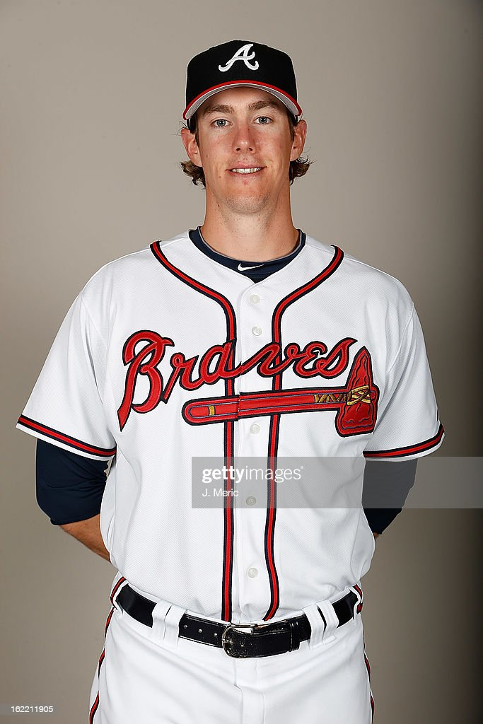 Pitcher Ryan Butcher #78 of the Atlanta Braves poses for a photo during photo day at Champion Stadium at the ESPN Wide World of Sports Complex at Walt Disney World on February 20, 2013 in Lake Buena Vista, Florida.