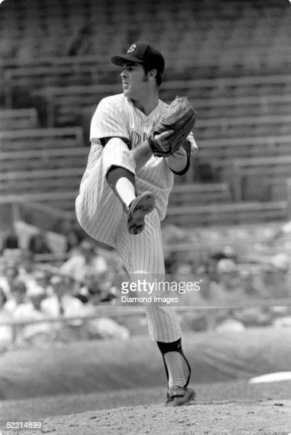 Pitcher Sam McDowell of the Cleveland Indians winds up a pitch during a 1970 game at Municipal Stadium in Cleveland Ohio