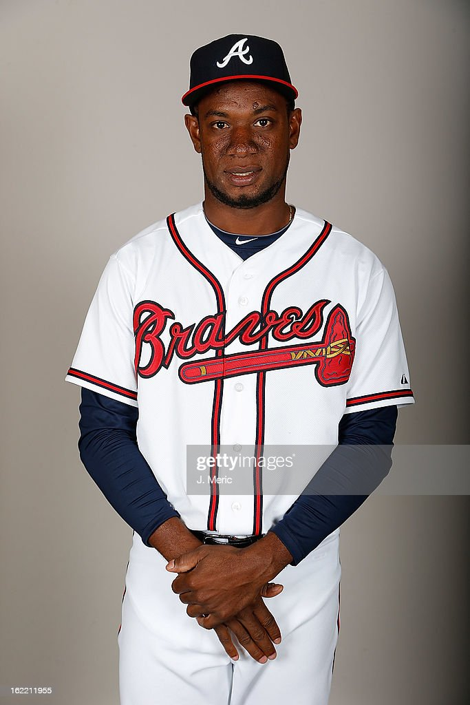 Pitcher Yohan Flande #70 of the Atlanta Braves poses for a photo during photo day at Champion Stadium at the ESPN Wide World of Sports Complex at Walt Disney World on February 20, 2013 in Lake Buena Vista, Florida.