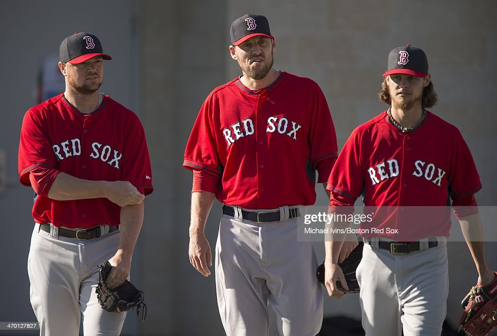 Red Sox Hold Spring Training