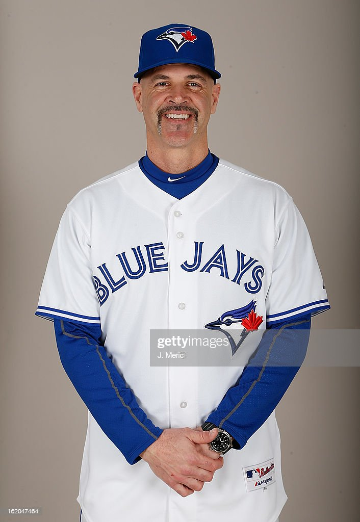 Pitching coach Pete Walker #40 of the Toronto Blue Jays poses for a photo during photo day at Florida Auto Exchange Stadium on February 18, 2013 in Dunedin, Florida.
