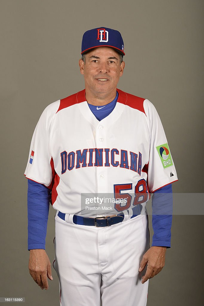 Pitching coach William Castro #58 of Team Dominican Republic poses for a headshot for the 2013 World Baseball Classic on March 4, 2013 at George M. Steinbrenner Field in Tampa, Florida.