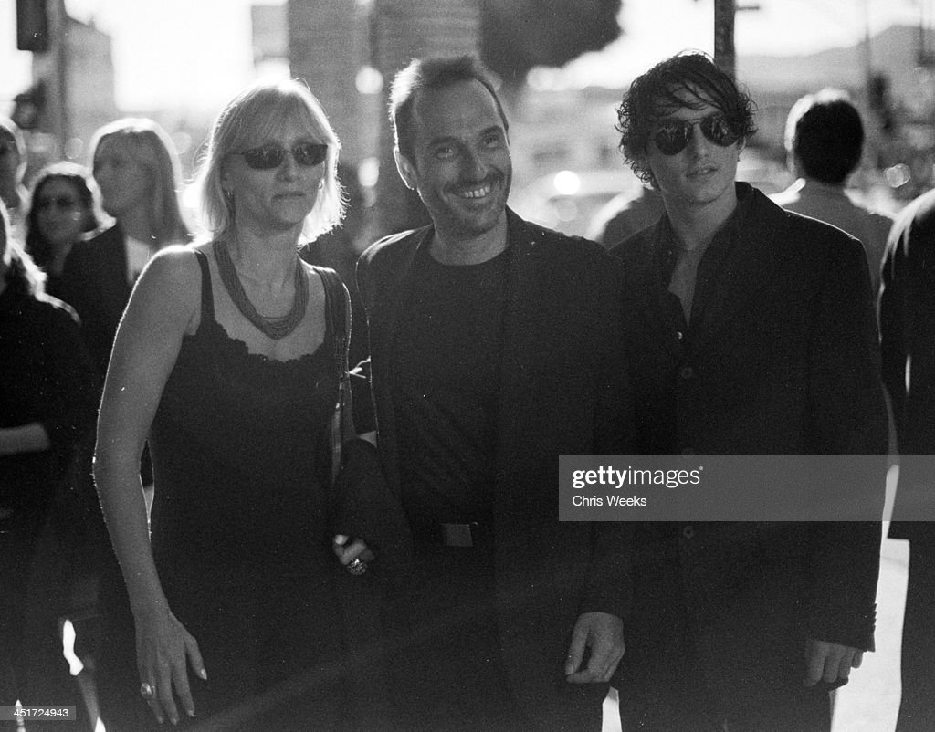 <a gi-track='captionPersonalityLinkClicked' href=/galleries/search?phrase=Pitof&family=editorial&specificpeople=220797 ng-click='$event.stopPropagation()'>Pitof</a>, director (center) during Catwoman World Premiere - Black & White Photography by Chris Weeks at Cinerama Dome in Hollywood, California, United States.