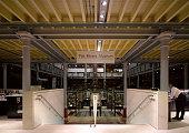 Pitt Rivers Museum Library Oxford United Kingdom Architect Pringle Richards Sharratt Pitt Rivers Museum Library Lower Level Corridor