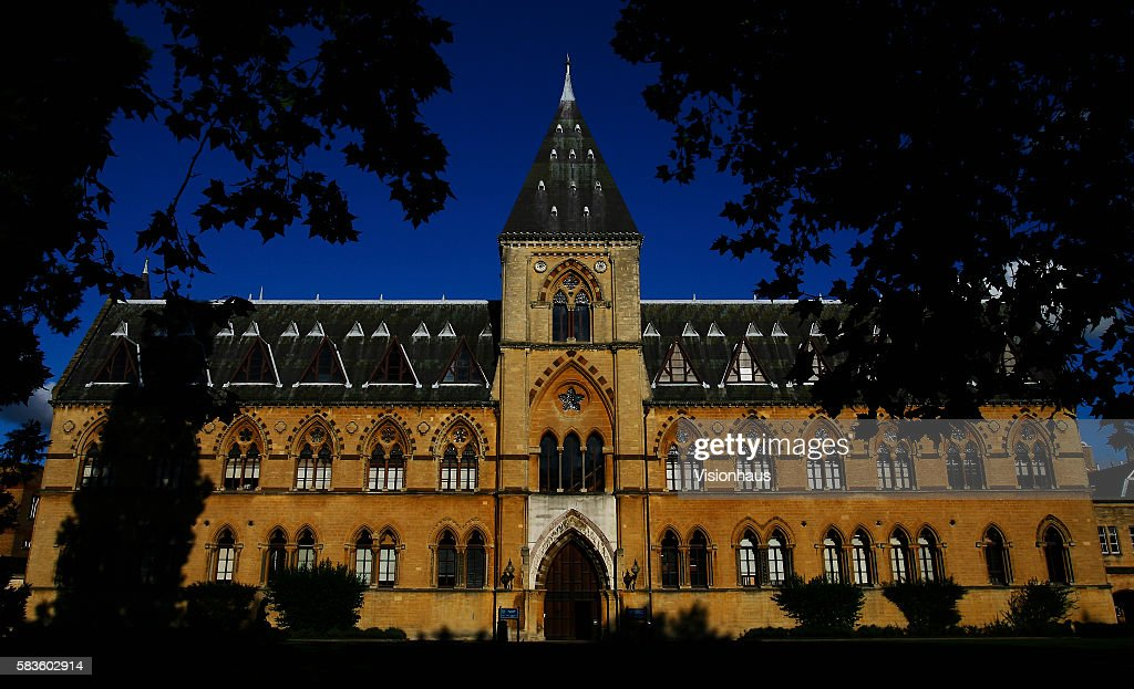 Pitt Rivers Museum Oxford in early Autumn sunshine Affectionately named 'the city of dreaming spires' by nineteenth century English poet Matthew...