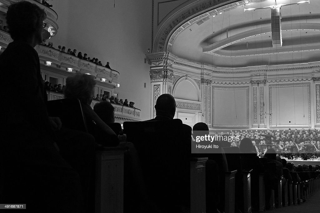 Pittsburg Symphony Orchestra performing at Carnegie Hall as part of Spring for Music Festival on Saturday night May 10 2014This imageManfred Honeck...