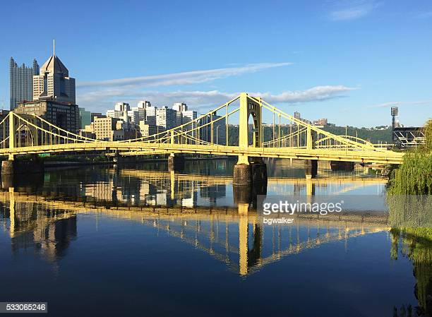 Pittsburgh Bridges and Allegheny River