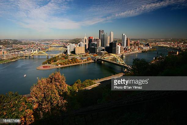 Pittsburgh in autumn