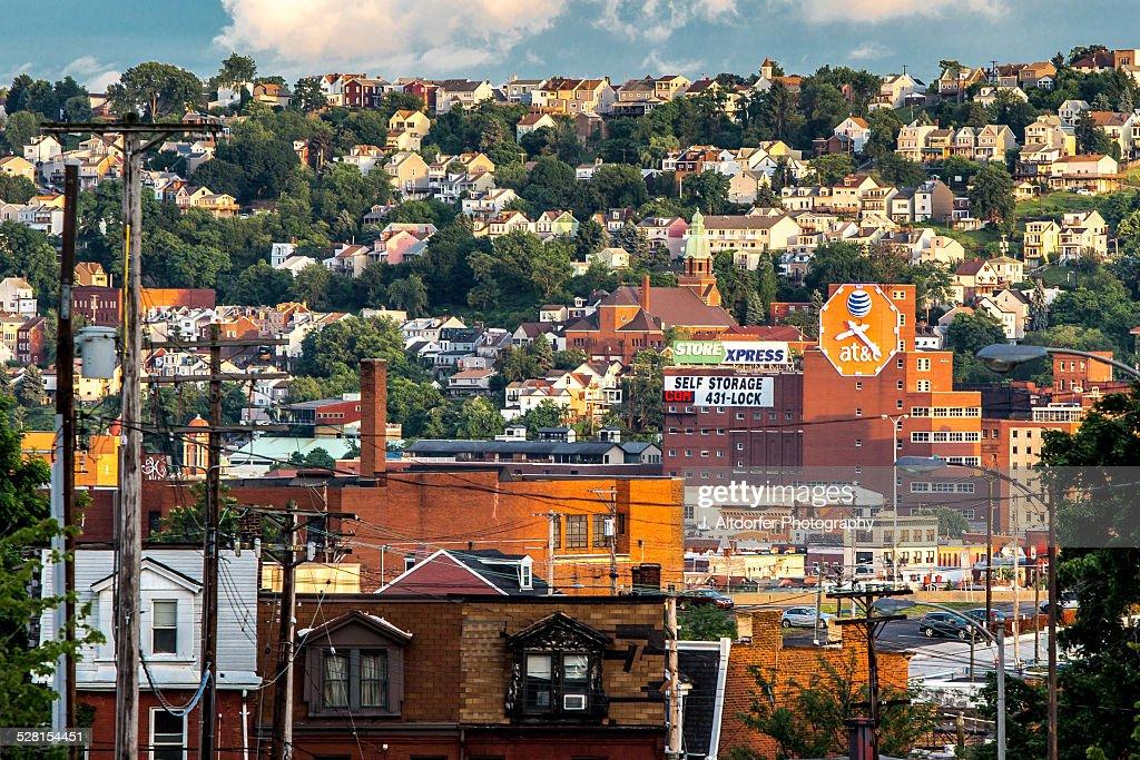 Pittsburgh is a city of hillside neighborhoods