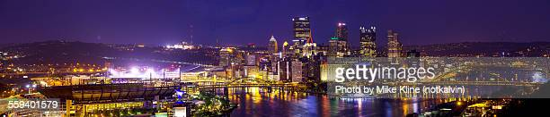 Pittsburgh panorama - night