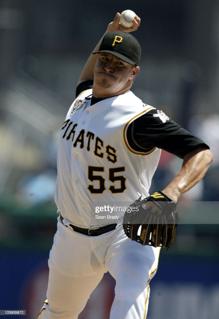 Pittsburgh Pirates Matt Capps delivers against Atlanta during action at PNC Park in Pittsburgh, Pennsylvania on August 3, 2006.