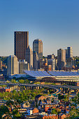 Pittsburgh skyline from Spring Hil