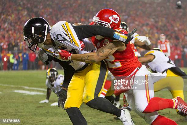 Pittsburgh Steelers cornerback Artie Burns during the NFL AFC divisional playoff game between the Pittsburgh Steelers and the Kansas City Chiefs on...