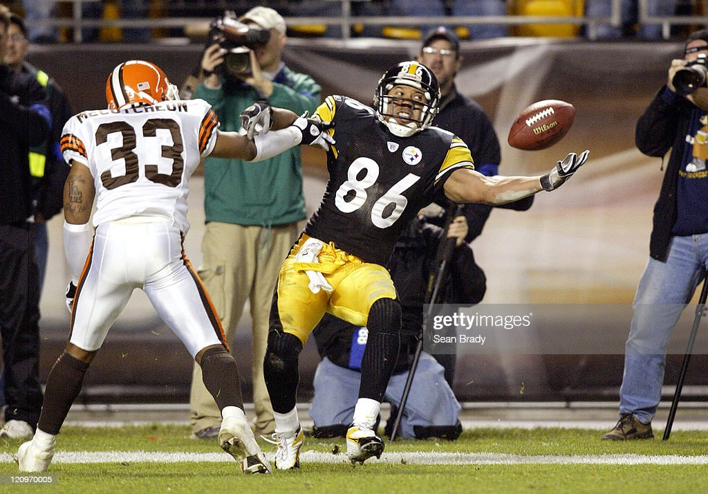 Cleveland Browns vs Pittsburgh Steelers - November 13, 2005