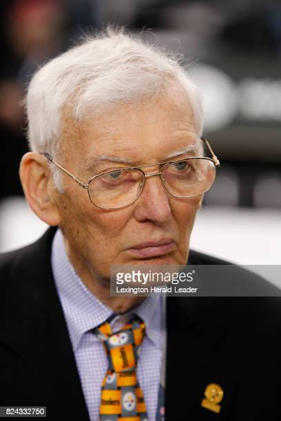 Pittsburgh Steelers owner Dan Rooney before the start of Super Bowl XLV against the Green Bay Packers at Cowboys Stadium in Arlington Texas on...
