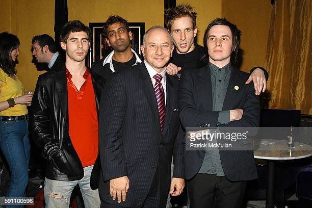Pitty Sing Paul Holmes David Greenwald Or Music CEO Larry Miller Jeremy Johnson and Andrew Puricelli attend Pitty Sing Album Release Party Hosted by...
