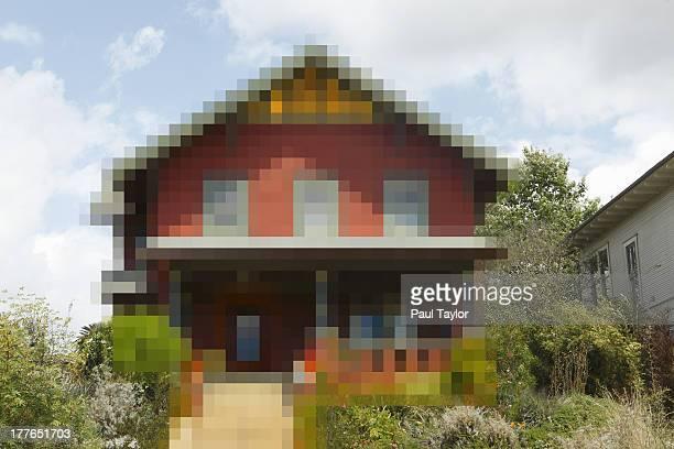 Pixelated House