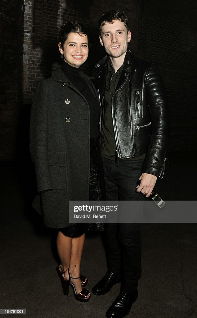 <a gi-track='captionPersonalityLinkClicked' href=/galleries/search?phrase=Pixie+Geldof&family=editorial&specificpeople=208703 ng-click='$event.stopPropagation()'>Pixie Geldof</a> (L) and George Barnett attend the Burberry Brit Rhythm gig in London at Village Underground on October 16, 2013 in London, England.