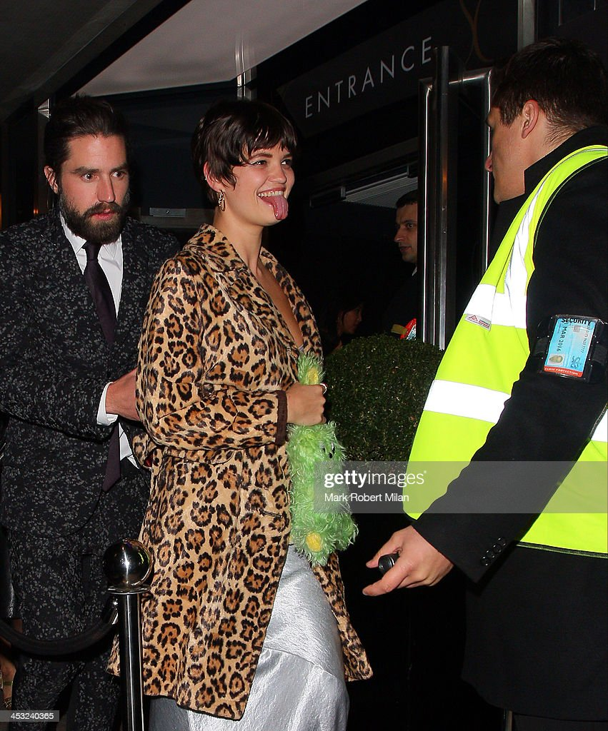 <a gi-track='captionPersonalityLinkClicked' href=/galleries/search?phrase=Pixie+Geldof&family=editorial&specificpeople=208703 ng-click='$event.stopPropagation()'>Pixie Geldof</a> at the Playboy club on December 2, 2013 in London, England.