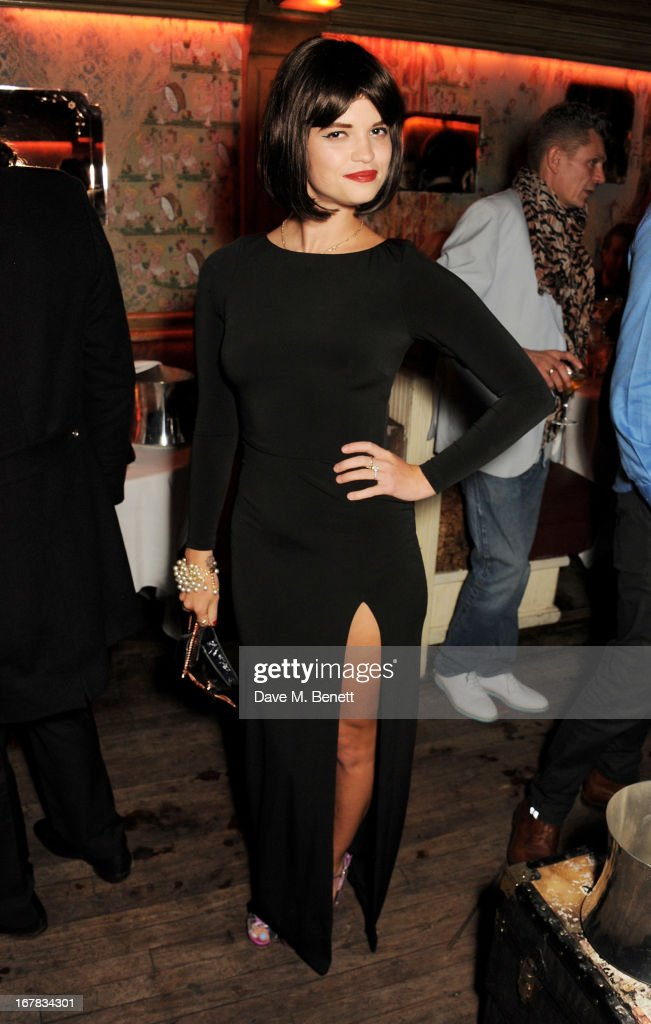 <a gi-track='captionPersonalityLinkClicked' href=/galleries/search?phrase=Pixie+Geldof&family=editorial&specificpeople=208703 ng-click='$event.stopPropagation()'>Pixie Geldof</a> attends <a gi-track='captionPersonalityLinkClicked' href=/galleries/search?phrase=Fran+Cutler&family=editorial&specificpeople=214245 ng-click='$event.stopPropagation()'>Fran Cutler</a>'s surprise birthday party supported by ABSOLUT Elyx at The Box Soho on April 30, 2013 in London, England.