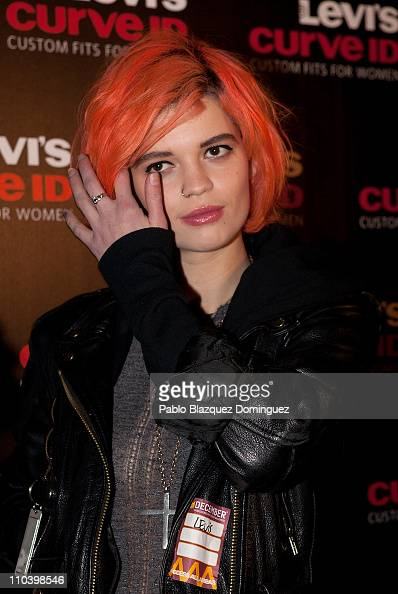 Pixie Geldof attends 'Levi's Curve ID Night' at Moby Dick Club on March 17 2011 in Madrid Spain