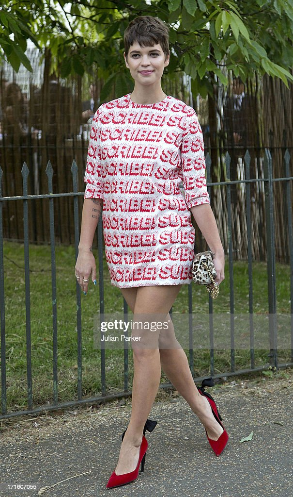Pixie Geldof attends the annual Serpentine Gallery summer party at The Serpentine Gallery on June 26, 2013 in London, England.