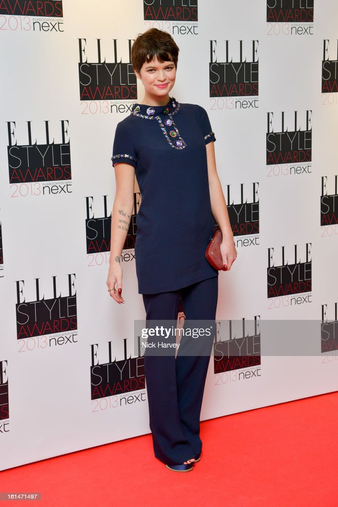 Pixie Geldof attends the Elle Style Awards 2013 on February 11, 2013 in London, England.