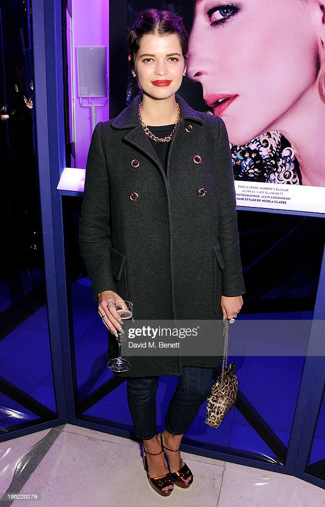 <a gi-track='captionPersonalityLinkClicked' href=/galleries/search?phrase=Pixie+Geldof&family=editorial&specificpeople=208703 ng-click='$event.stopPropagation()'>Pixie Geldof</a> attends the John Frieda party celebrating 25 years of transforming women's hair at Claridges Hotel on October 29, 2013 in London, England.