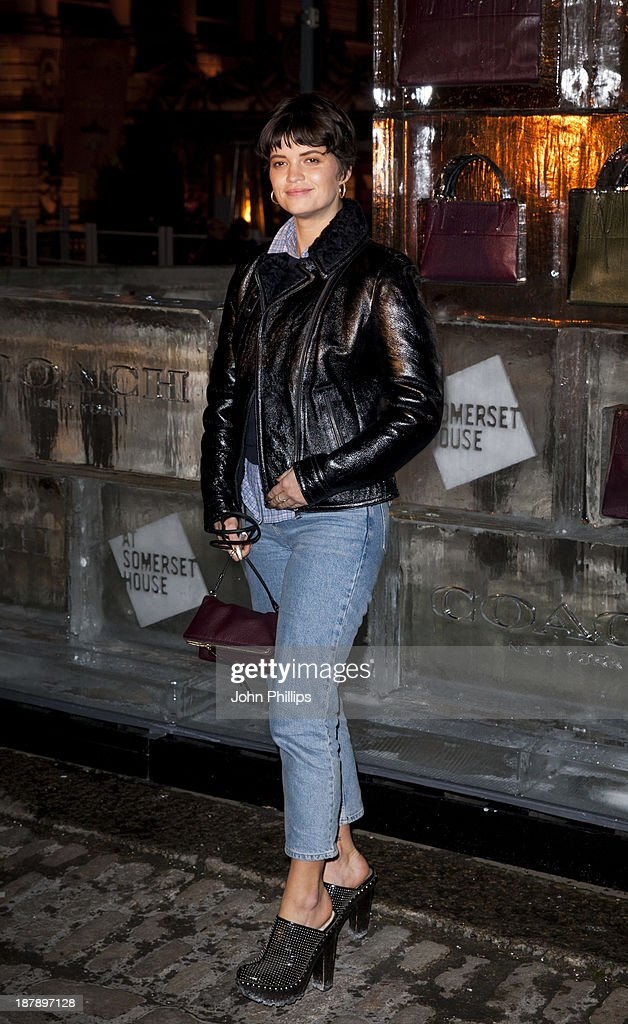 <a gi-track='captionPersonalityLinkClicked' href=/galleries/search?phrase=Pixie+Geldof&family=editorial&specificpeople=208703 ng-click='$event.stopPropagation()'>Pixie Geldof</a> attends the launch of Skate at Somerset House on November 13, 2013 in London, England.