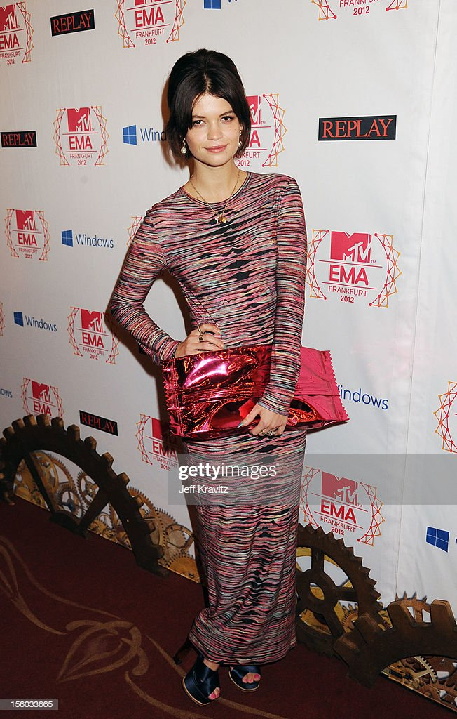 <a gi-track='captionPersonalityLinkClicked' href=/galleries/search?phrase=Pixie+Geldof&family=editorial&specificpeople=208703 ng-click='$event.stopPropagation()'>Pixie Geldof</a> attends the MTV EMA's 2012 at Festhalle Frankfurt on November 11, 2012 in Frankfurt am Main, Germany.