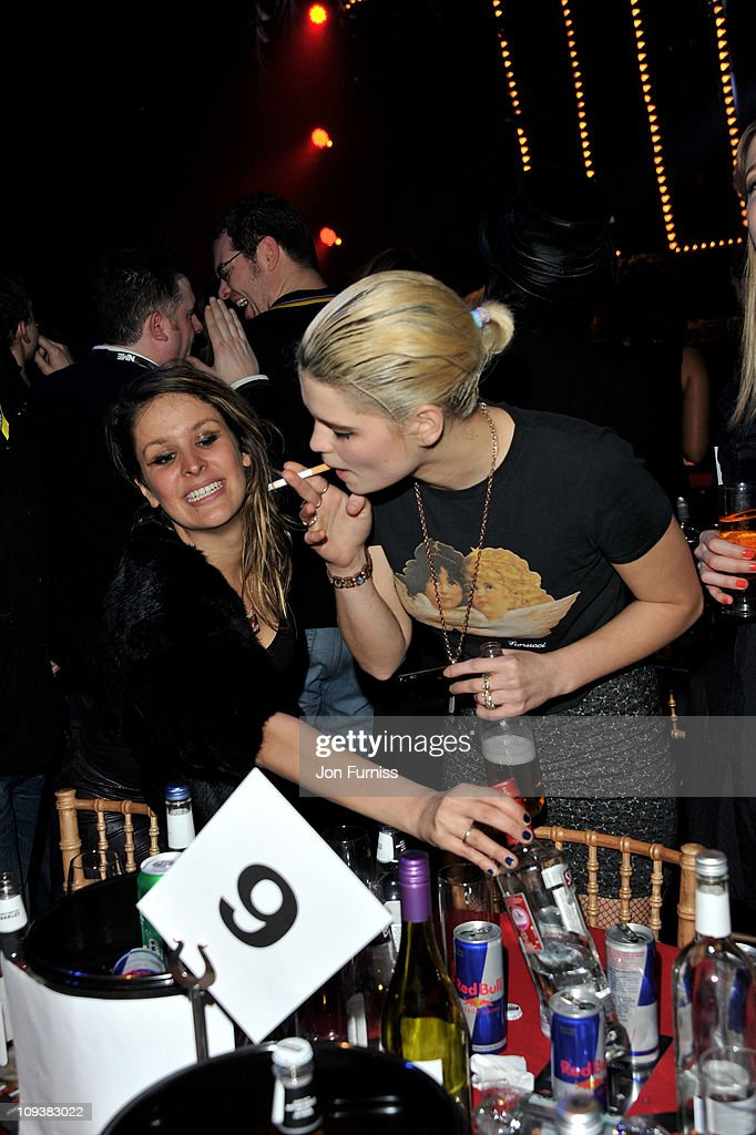 Pixie Geldof during the NME Awards 2011 at Brixton Academy on February 23, 2011 in London, England.